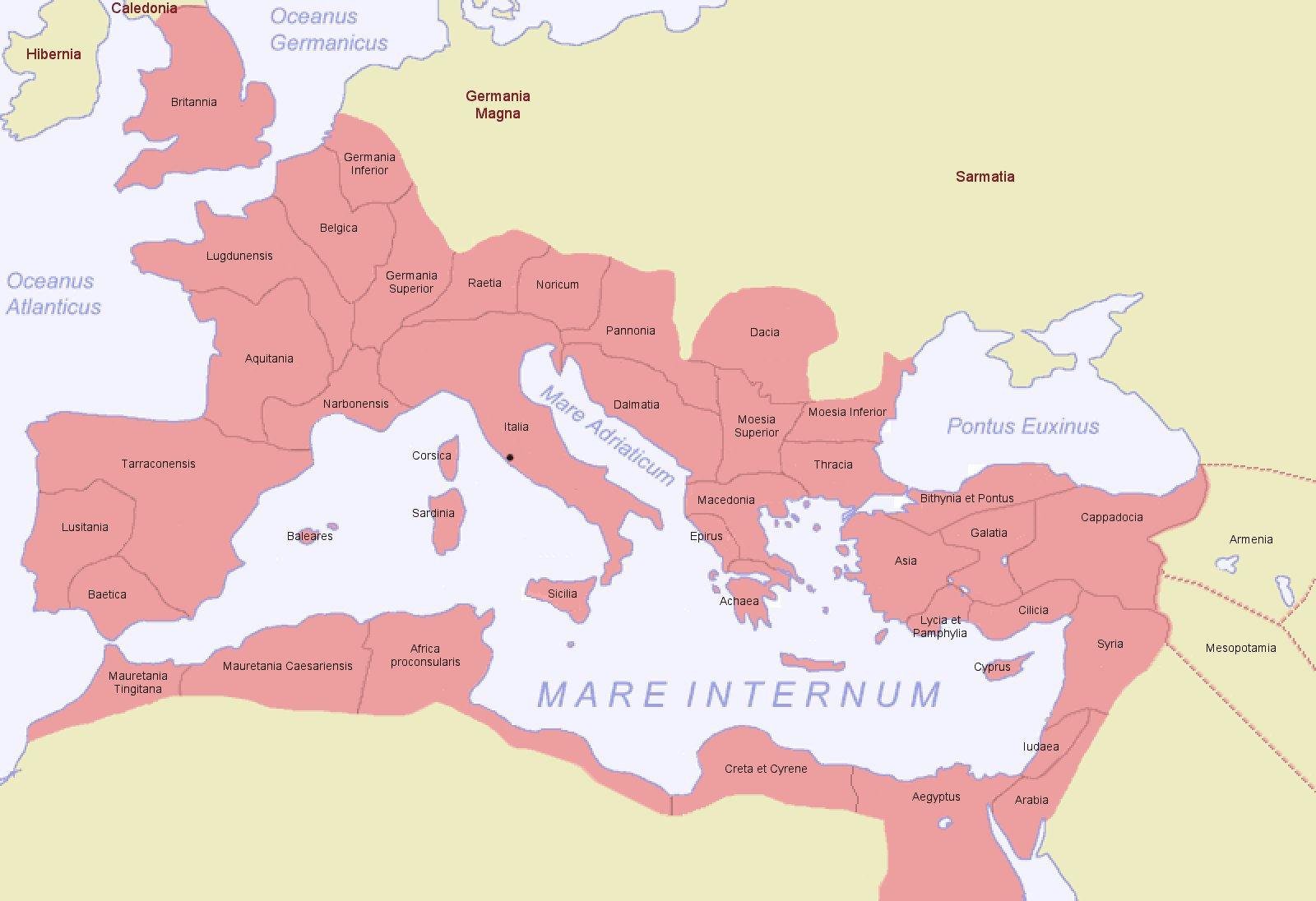 római birodalom térkép Romia Imperio [Római Birodalom] [Digitális Képarchívum   DKA 009169] római birodalom térkép