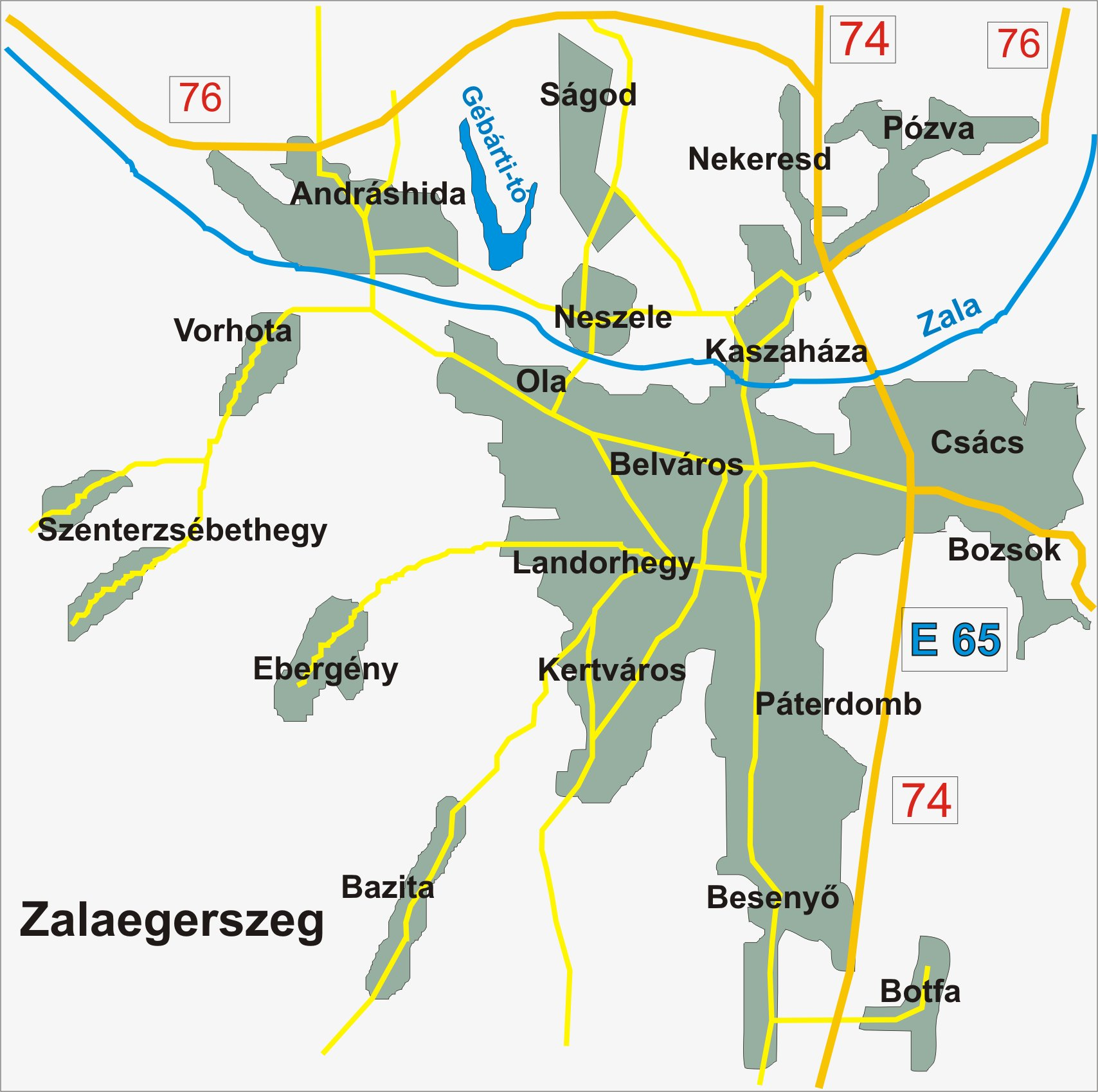 zalaegerszeg térkép Zalaegerszeg térkép [Digitális Képarchívum   DKA 018881] zalaegerszeg térkép