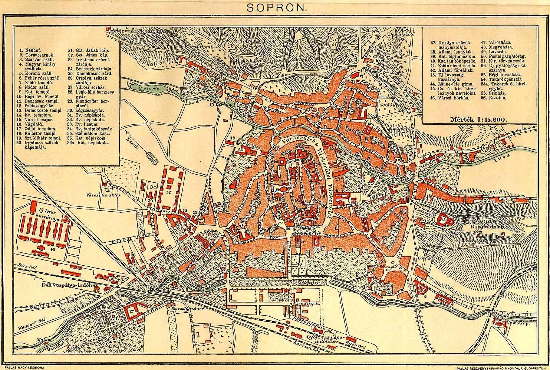 Terkep Sopron Marlpoint