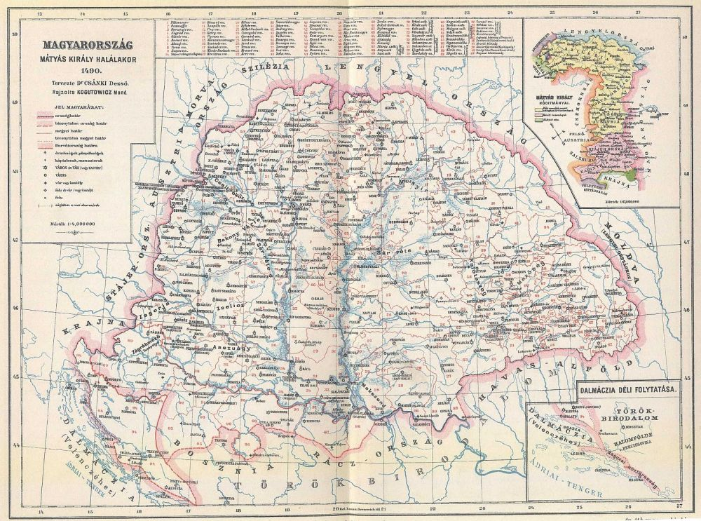 Hungary 1490 Magyar Kiralysag 1490 Digitalis Keparchivum Dka